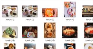 写真, 食べ物, 異なる, 食器 が含まれている画像